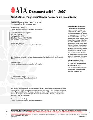 simple subcontractor agreement template eliolera com