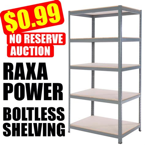 metal garage shelving steel metal garage commercial storage shelving 71 quot hx36 quot wx24 quot d with 5 shelves ebay