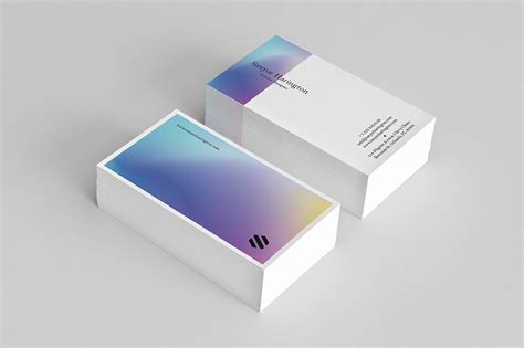 Holographic Cards Templates Free by Holo Business Card Template Graphicsegg