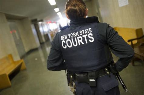 Court Officer by Court Officers Must Now Wear Vests Thee Rant