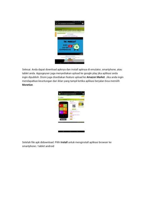 membuat aplikasi android dengan xp membuat aplikasi android dengan apps geyser
