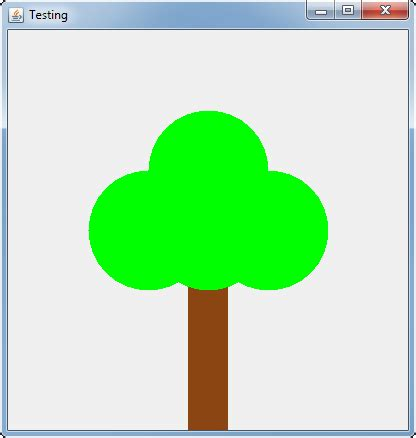 java swing draw text java how to draw a 2d tree stack overflow