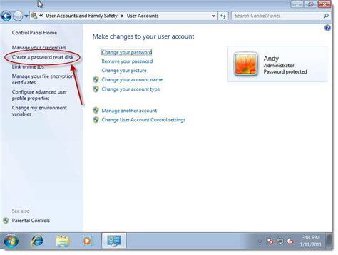 reset windows 7 password without disk blog archives metrdisc