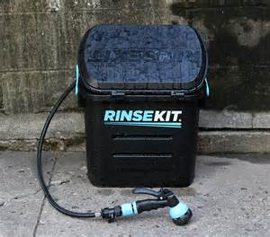 shower anywhere with the rinsekit cing shower review