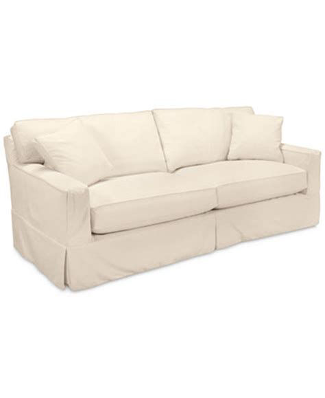 macy s sofa covers sofa with slipcover klaussner pandora transitional sofa with slipcover wayside thesofa