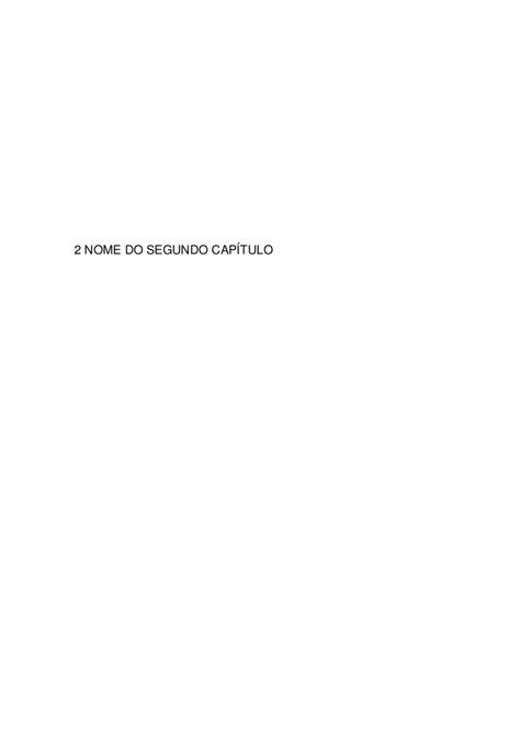 Esqueleto de monografia 2010 para blog