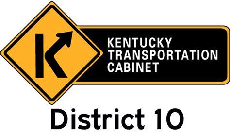 Kentucky Transportation Cabinet by Kytc District 10 Logo