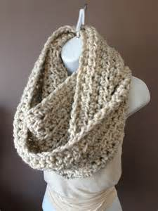 Free Crochet Patterns For Infinity Scarves Crochet Infinity Scarf On Luulla