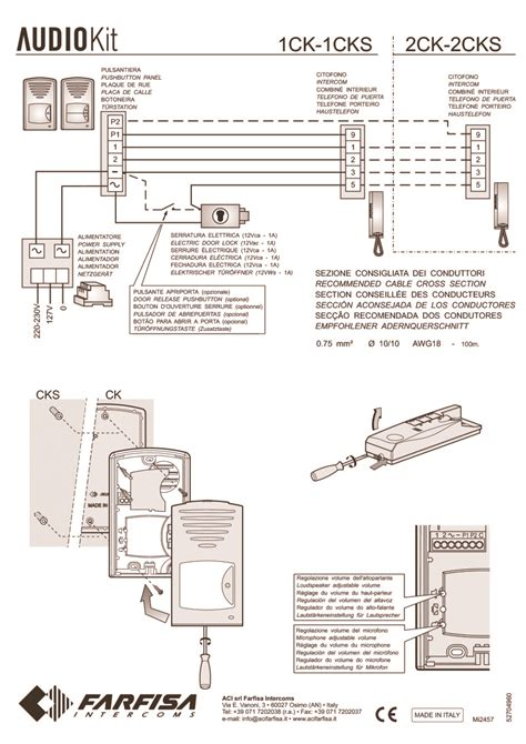 farfisa door entry wiring diagram efcaviation