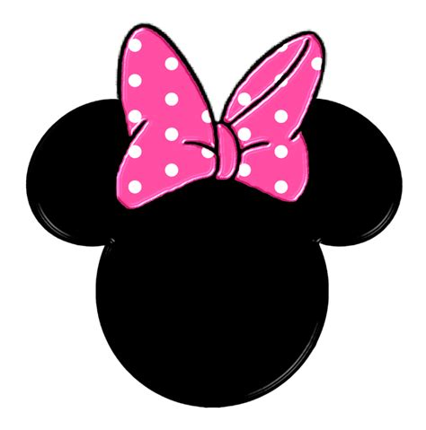 free printable minnie mouse bow template minnie heads and bows free printables is it for