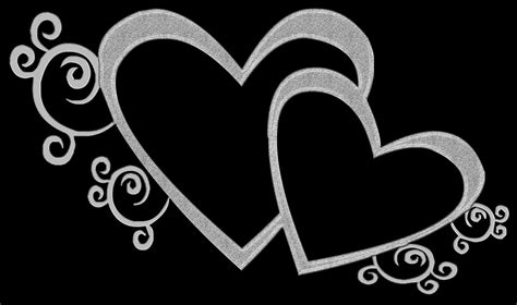 Wedding Hearts Clip by Wedding Hearts Clipart Black And White S Free