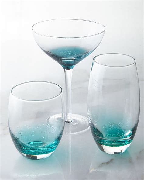 barware glasses nassau glassware everything turquoise