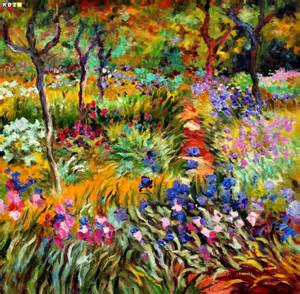 claude monet monet 180 s garten in giverny e82939 60x60cm