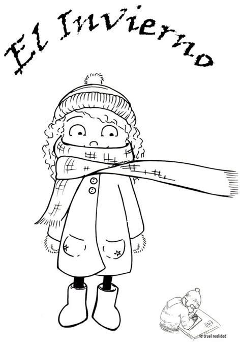 imagenes invierno para pintar dibujos de 161 bienvenido invierno para colorear mu 241 ecos de