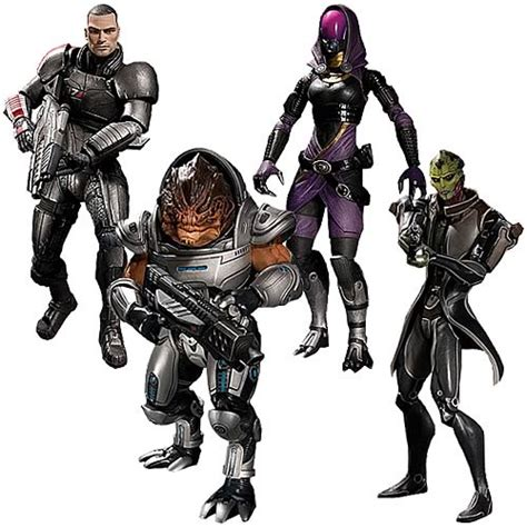 figure effects mass effect 2 series 1 figure set dc collectibles