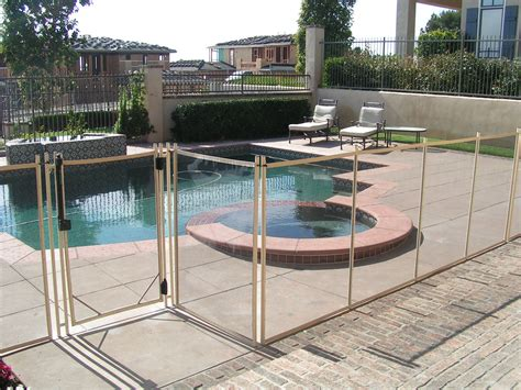 removable pool fence removable pool fences poolsafe pool fences and covers