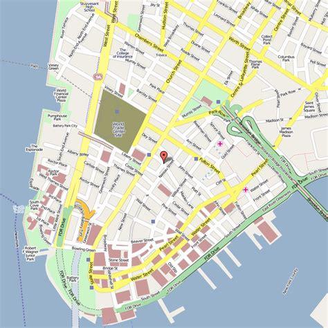 district map of nyc 究竟该在曼哈顿哪里购房置产 linpanrealty 纽约安居地产