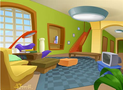 living room cartoon cmbg living room 2 by aimanstudio on deviantart