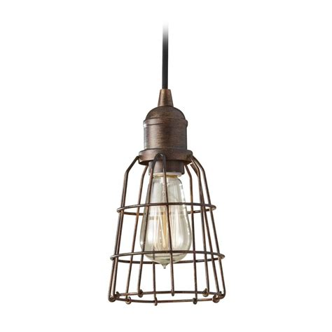mini pendant light shades industrial vintage mini pendant light with cage shade