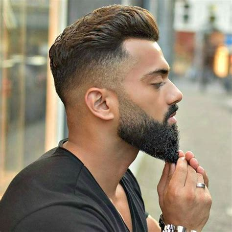 taper fade with beard 5 trending undercut hairstyles with beard on pinterest