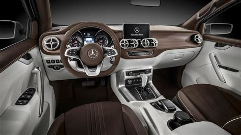 future mercedes interior mercedes benz pickup concept revealed will become x class