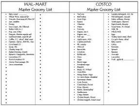 Master Grocery List Template Master Grocery List Cake Ideas And Designs