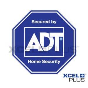 adt custom home quot protected by chubb quot alarm window door stickers