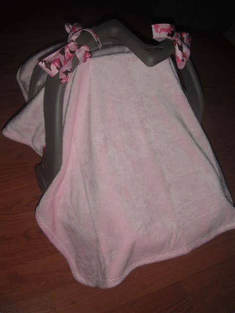 car seat fleece cover diy car seat cover i took a purchased 36x30 fleece baby