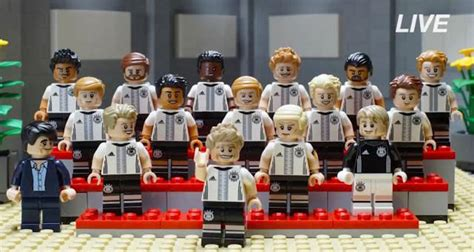 Lego 71014 Minifigure Germany National Team Dfb Series Limited Edition lego dfb german national football team minifigure series 71014 revealed the brick fan the