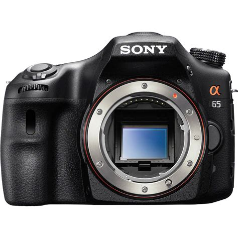 sony alpha slt a65 dslr digital only slta65v b h