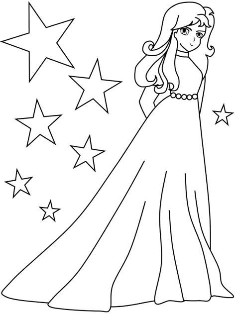 Gambar Mewarnai Untuk Anak Perempuan Terbaru | gambarcoloring
