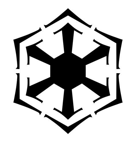 sith symbol tattoo wars sith empire bendu symbol inspired vinyl decal for