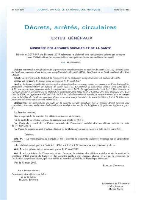 Plafond Cmuc by D 233 Sur Le Plafond De Ressources Pour B 233 N 233 Ficier De La