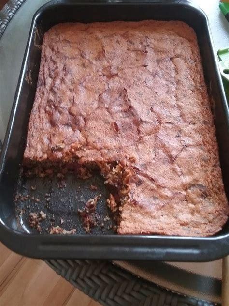 kuchen mit kirschen schoko mandel kuchen mit kirschen rezept mit bild