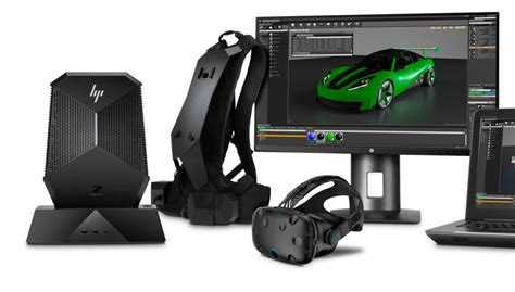 Vr Hp Hp S New Commercial Vr Backpack Pc Smartly Docks To