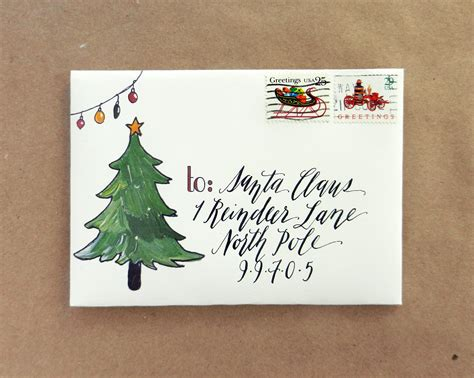 printable holiday mail art envelopes freebie the