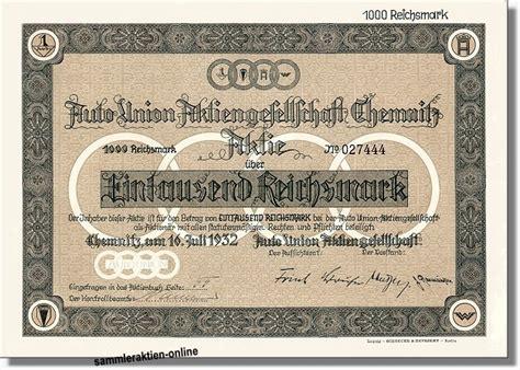 Auto Union Ag by Auto Union Ag Audi Unentwertete Originalversion
