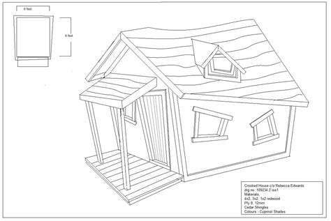 crooked tree house plans kids crooked house plans escortsea