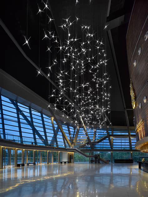 328 Bulb Lasvit Sculpture Transforms Thailand Auditorium