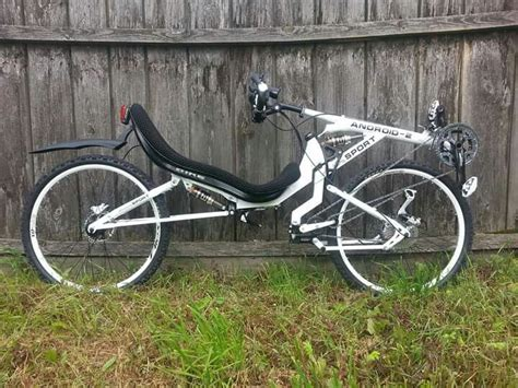 Bike Fwd Abramo 3 0 a homebuilt fwd with suspension cool recumbent