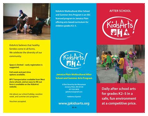 desain brosur sekolah sederhana 12 contoh desain brosur sekolah simpel jasa desain logo