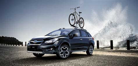 subaru car back subaru xv black limited edition expands local suv line up