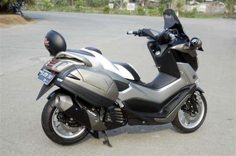Sandaran Jok Motor Yamaha N Max modifikasi n max bergaya elegan touring otosia