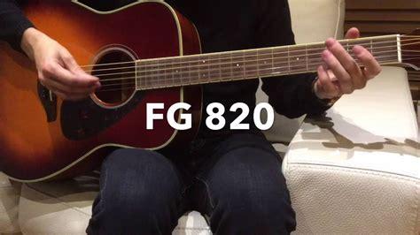 Harga Gitar Yamaha Fg 820 yamaha fg 820 demo