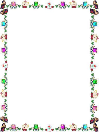 marcos para decorar hojas infantiles margenes para decorar hojas imagenes mil bordes infantiles
