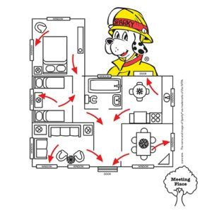 home fire escape plan home fire escape plans home plan
