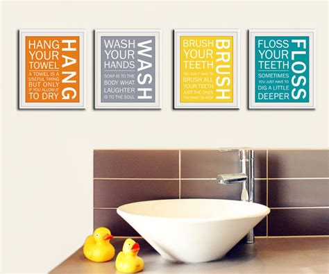 bathroom wall art sayings aunt jesse said so nursery wall art by wall art by small fry