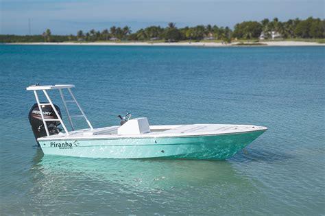 piranha boatworks f1700 flats bay boat review coastal - Piranha Flats Boats