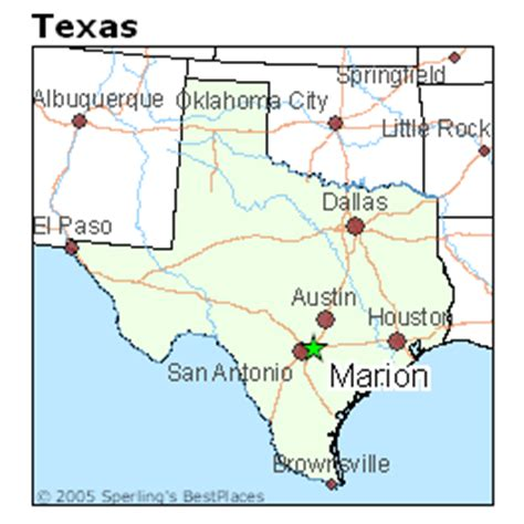 marion texas map best places to live in marion texas