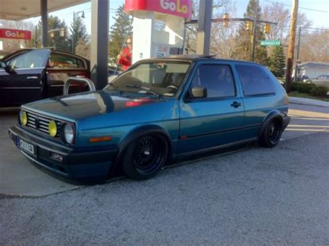 how to sell used cars 1992 volkswagen gti interior lighting buy used 1992 volkswagen golf gti 16v g60 show car built bagged bbs s in albany new york